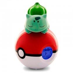 Pokemon Pokeball lamp alarm clock Bullbasaur