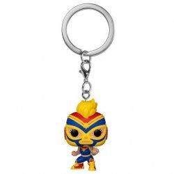 POP! keychain Wrestlers Pocket Marvel Captain Marvel Star Cosmica