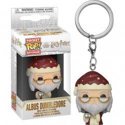 Pocket POP! keychain Harry Potter Dumbledore Holiday