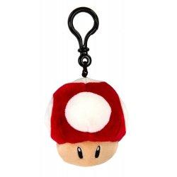 Mario Kart Mocchi-Mocchi Clip On Plush Hanger Super Mushroom 10 cm