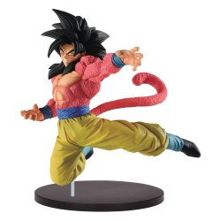 Dragonball Super Son Goku Fes PVC Statue Super Saiyan 4 Son Goku 21 cm