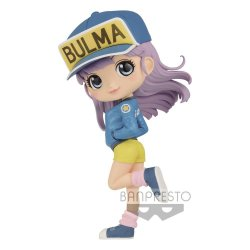 Dragon Ball Z Q Posket Mini Figure Bulma II Ver. B 14 cm