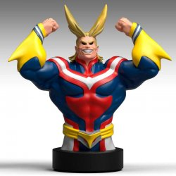 My Hero Academy All Might bust money box 25cm