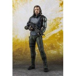 Avengers Infinity War S.H. Figuarts Action Figure Bucky & Tamashii Effect Impact 15 cm