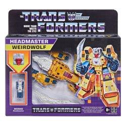 Transformers Generations: Retro - Deluxe Headmasters - Weirdwolf