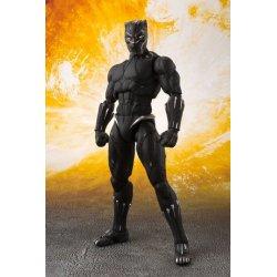 Avengers Infinity War S.H. Figuarts Action Figure Black Panther & Tamashii Effect Rock 16 cm