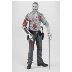 The Walking Dead Action Figure Rick (Bloody B&W) 15 cm