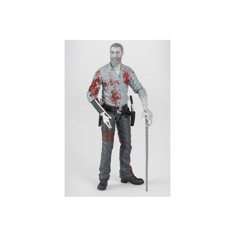 THE WALKING DEAD Beta Action Figure Bloody B/&W