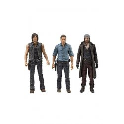 The Walking Dead TV Version Action Figure 3-pack Allies 13 cm