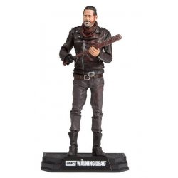 The Walking Dead TV Version Action Figure Negan Exclusive Bloody Edition 18 cm