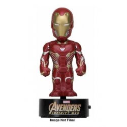 Avengers Infinity War Body Knocker Bobble-Figure Iron Man 16 cm