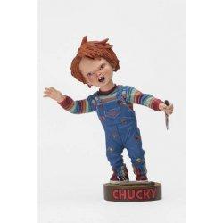 Child´s Play Head Knocker Bobble-Head Chucky with Knife 18 cm