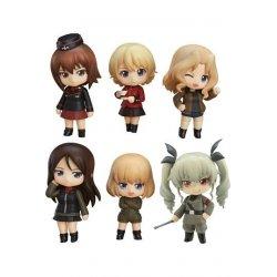 Girls und Panzer der Film Mini Figures Nendoroid Petite 6-Set Other High Schools Ver. 7 cm