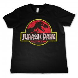Jurassic Park - Logo - Kids T-Shirt Black