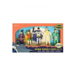 Batman 1966 Bendable Figures 5-Pack Set II 14 cm