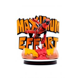 Marvel Q-Fig MAX Diorama Deadpool Maximum Effort 14 cm