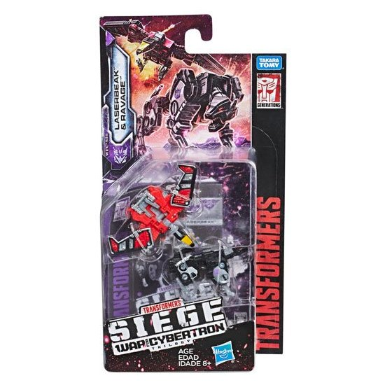 Transformers: War for Cybertron: Siege Micromasters - Laserbeak & Ravage