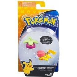 Pokemon: Action Pose - Pikachu vs Bounsweet