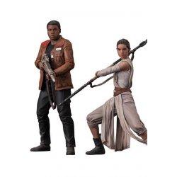 Star Wars Episode VII ARTFX+ Statue 2-Pack Rey & Finn 15 - 18 cm