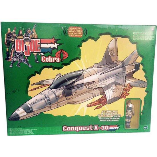 """Gi Joe vs Cobra - Conquest X-30 - Toys """"R"""" Us Exclusive"""