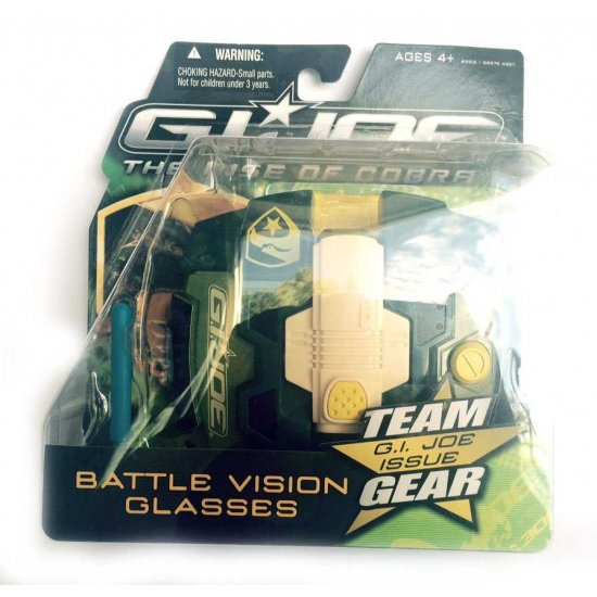 G.I. Joe - The Rise Of Cobra - Battle Vision Glasses - action figures