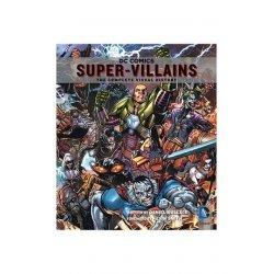 DC Comics Art Book Super-Villains