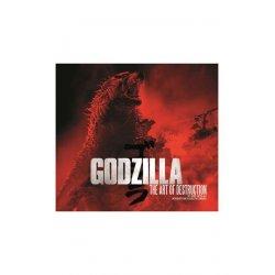 Godzilla Art Book The Art of Destruction