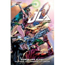 DC Comics Comic Book Justice League Power & Glory by Brian Hitch english