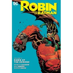 DC Comics Comic Book Robin Son Of Batman Vol. 2 Dawn Od The Demons by Patrick Gleason english