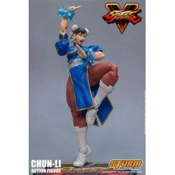 Street Fighter V Action Figure 1/12 Chun-Li 17 cm