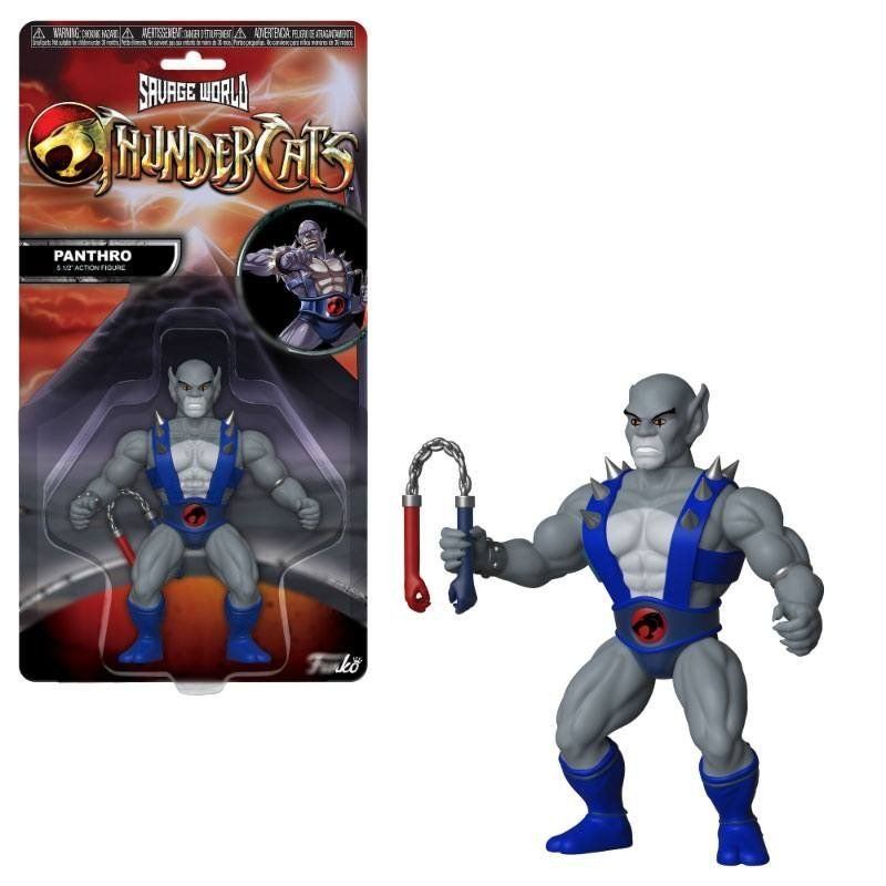 Thundercats Savage World Action Figure Panthro 10 cm