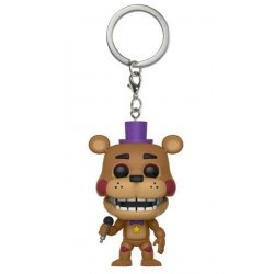 Five Nights at Freddy's Pizzeria Simulator Pocket POP! Vinyl Keychain Rockstar Freddy 4 cm