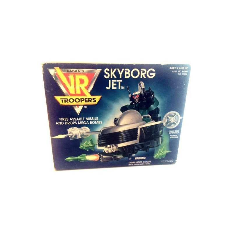 VR Troopers - Skyborg Jet - action figures