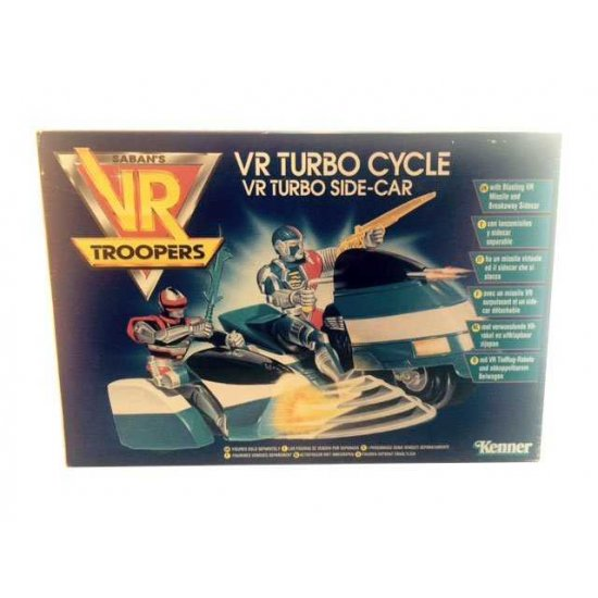 VR Troopers - Turbo Side Cycle - action figures