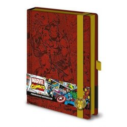 Marvel Comics Premium Notebook - Retro Iron Man