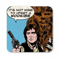 Star Wars - Chewbacca - Upset a Wookie Coaster