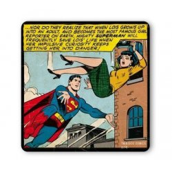 Superman - Save Lois' Life Coaster