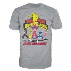 Power Rangers T-Shirt Morph Into Action - Gray