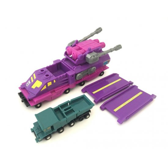Transformers G1 Micromasters: Cannon Transport with Cement-Head and Terror-Tread