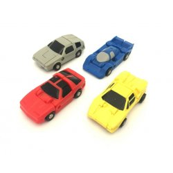 Transformers G1 Race Car Patrol (Roadhandler, Free Wheeler, Swindler, Tailspin)