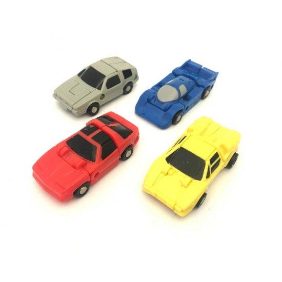 Transformers G1 Race Car Patrol (Roadhandler, Free Wheeler, Swindler, Tailspin)