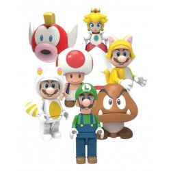Super Mario Buildable K'NEX Wave 5 Figures 5 cm