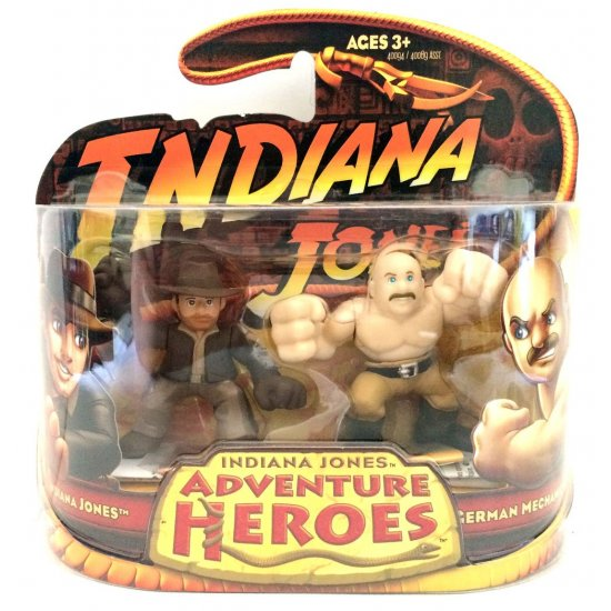 Indiana Jones - Adventure Heroes - Indiana Jones and German Machanic