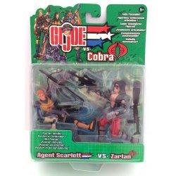 G.I Joe - Agent Scarlett vs Zartan