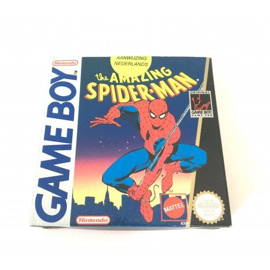 GameBoy - The Amazing Spider-Man Box