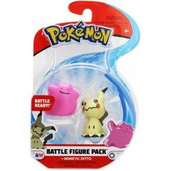Pokémon Battle Mini Figures - Mimikyu & Ditto