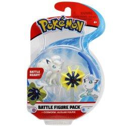 Pokémon Battle Mini Figures - Cosmoem & Alolan Vulpix