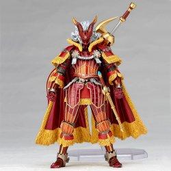 Monster Hunter X Vulcanlog Monhan Revo Action Figure Hunter Swordsman Kaiser X Series 16 cm
