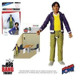 The Big Bang Theory Action Figures with Diorama Set Raj 10 cm
