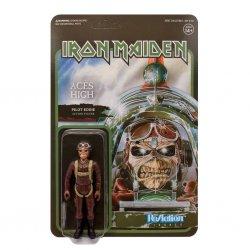 Iron Maiden ReAction Action Figure Aces High (Pilot Eddie) 10 cm